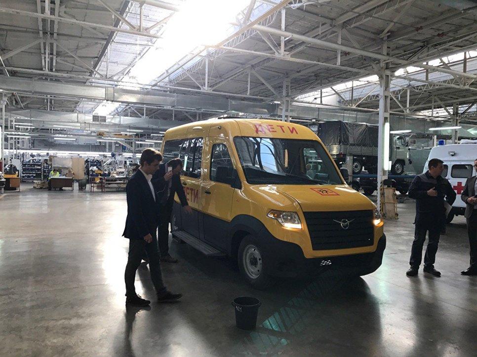 Микроавтобус УАЗ «Профи» придет назамену «буханке»