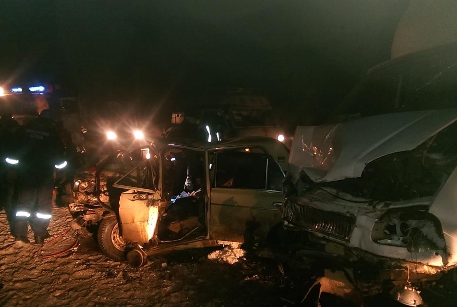 ВШемышейском районе втройном ДТП умер мужчина