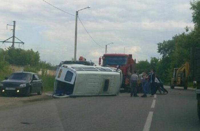 Наулице Строителей вПензе столкнулись три автомобиля— есть погибшие