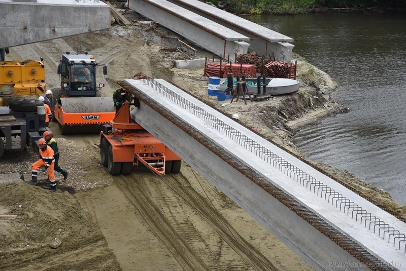 Мэр Пензы оценил работу подрядчика покапремонту Свердловского моста