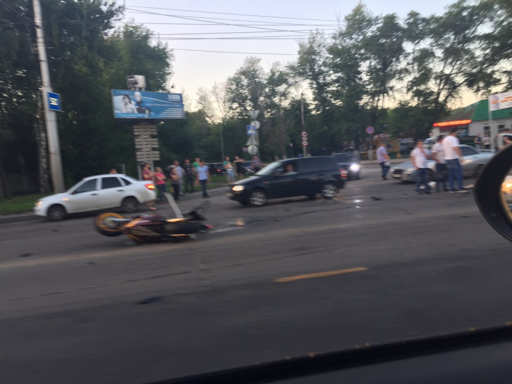 Авария вПензе: вжутком ДТП напроспекте Победы умер мотоциклист