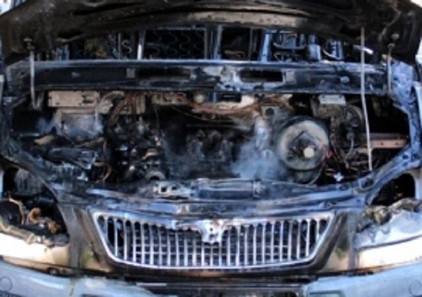 ВПензенской области натрассе сгорела грузовая «ГАЗель»
