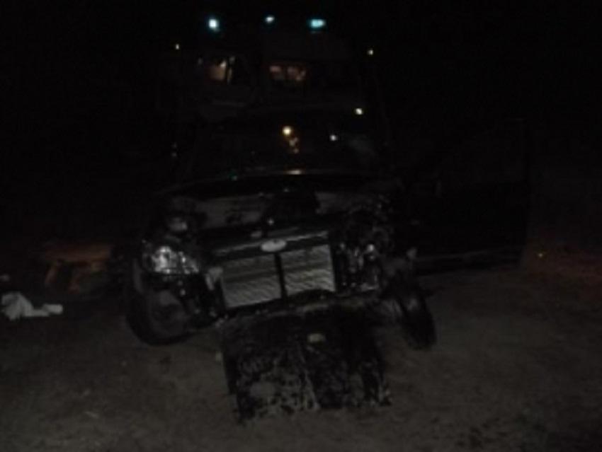 ВСердобском районе вДТП умер мужчина
