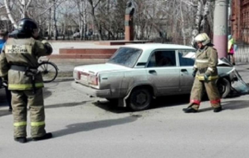 ВПензенской области пострадали люди из-за наезда «ВАЗа» напрепятствие