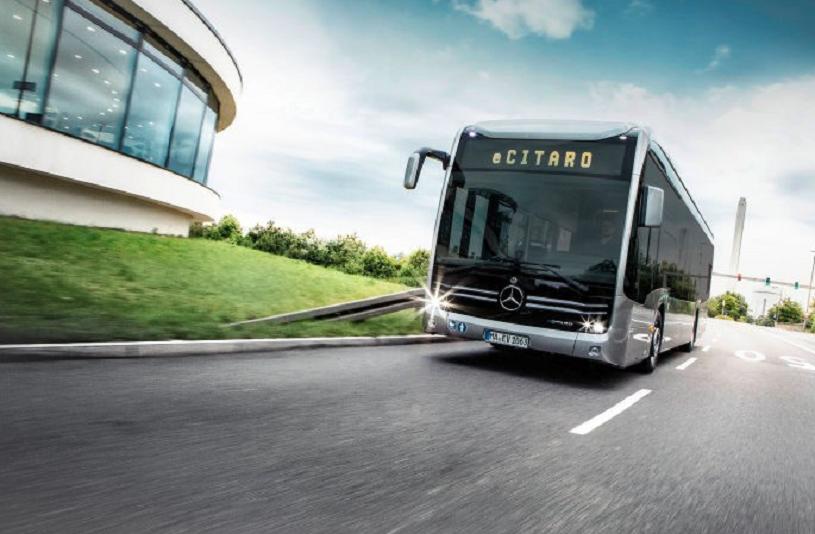 Mercedes вГанновере представил новый электрический автобус eCitaro