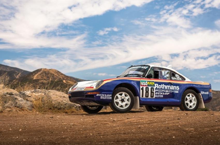 Раллийный Porsche 959 для гонки «Париж-Дакар» впервые продадут в рамках аукциона