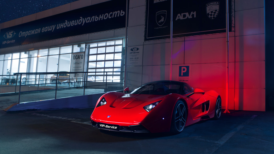 1-ый спорткар Marussia выставили на реализацию за10 млн руб.