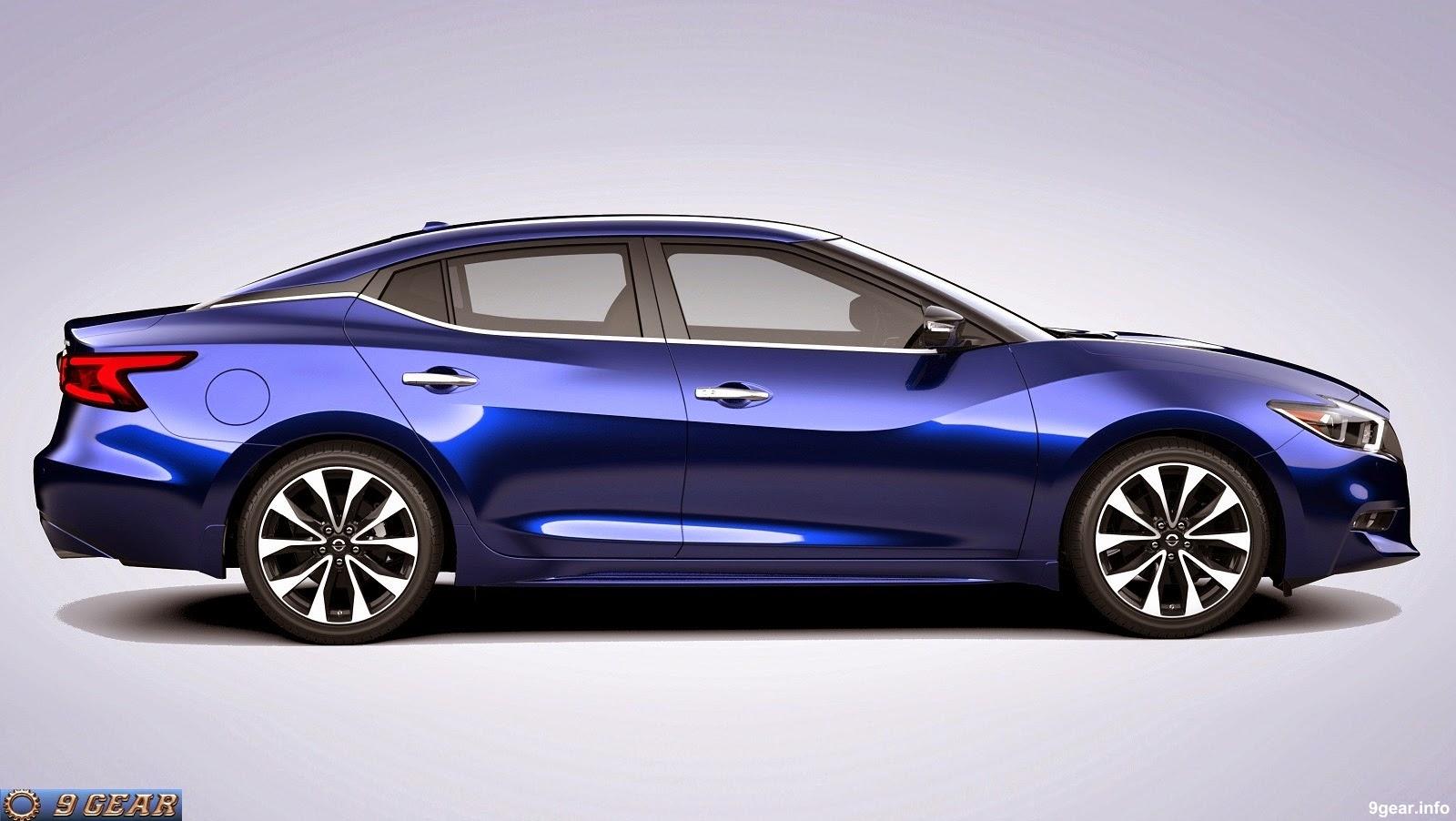 Nissan готовит к автосалон в Лос-Анджелесе обновленный седан Maxima