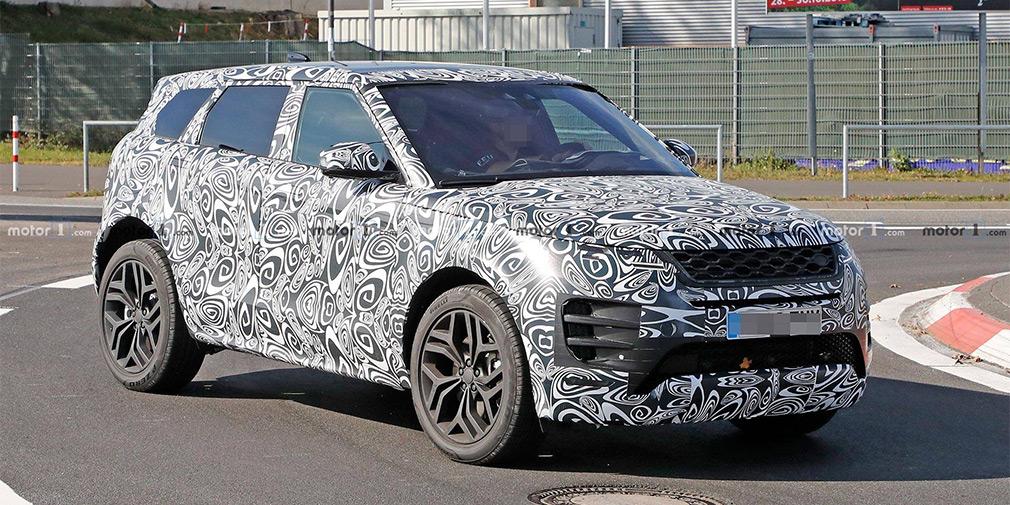 Новый Range Rover Evoque испытали наНюрбургринге