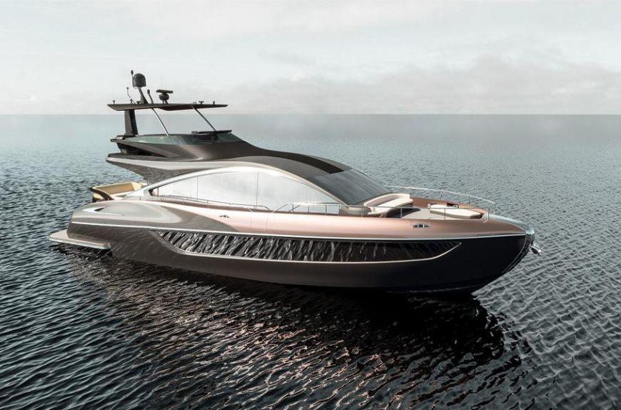 Четвертым флагманом марки Lexus стала яхта класса люкс