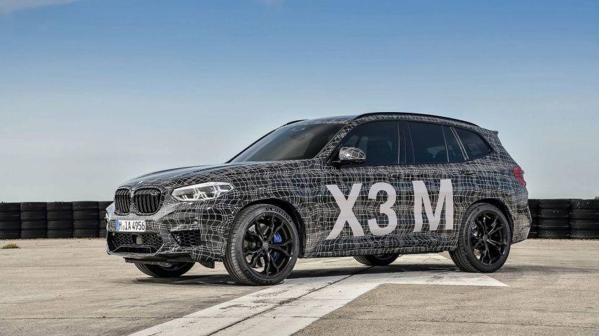 «Заряженные» БМВ  X3 MиX4 Mанонсировали официально
