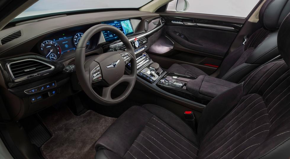 Появился первый рендер обновлённого седана Hyundai Genesis G90 2019