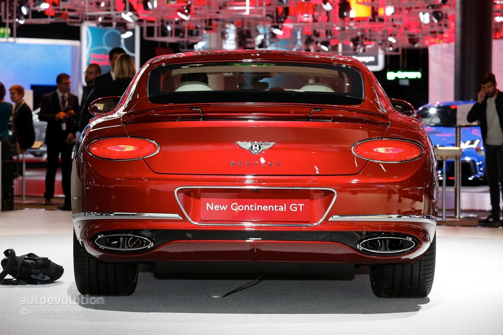 В Российской Федерации  стартовали продажи купе Бентли  континенталь  GT