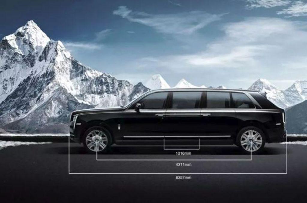 Удлиненный бронированный Rolls-Royce Cullinan за 2 млн долларов