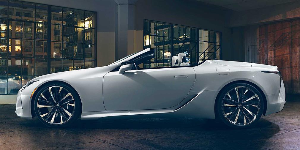 Lexus покажет в Детройте кабриолет LC Convertible