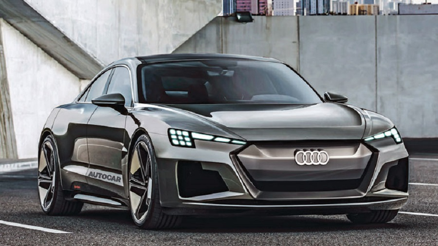 Audi анонсировала роскошное четырехдверное купе на электротяге