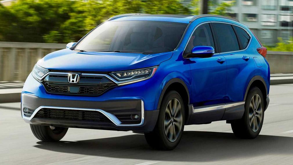 Honda определилась с ценниками на обновленный Honda CR-V