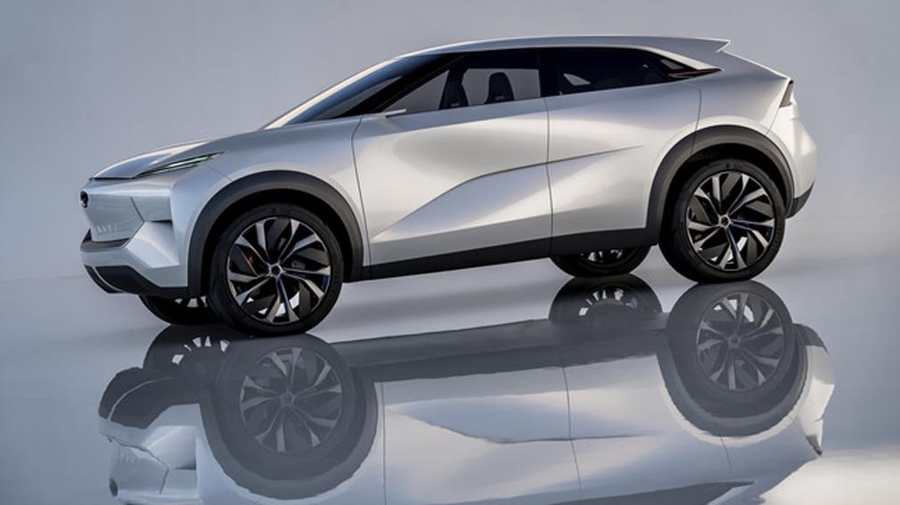 Infiniti показала изображение нового купе-кроссовера QX55