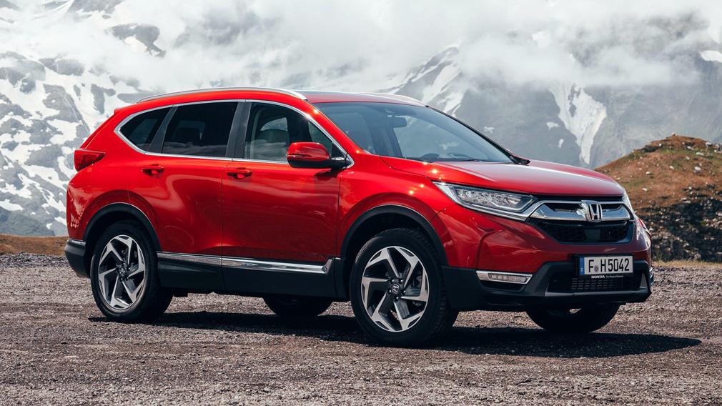Honda подготовила обновленный CR-V к дебюту в России