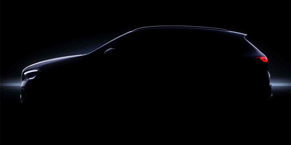 Mercedes показал салон нового GLA