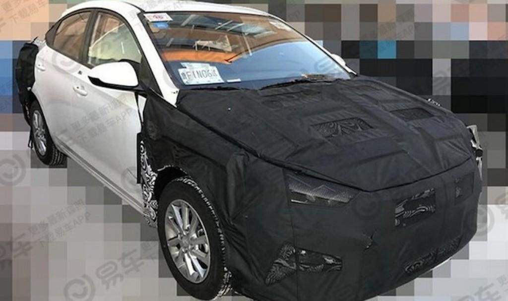 Обновленный Hyundai Solaris получит вариатор и фонари от Lexus