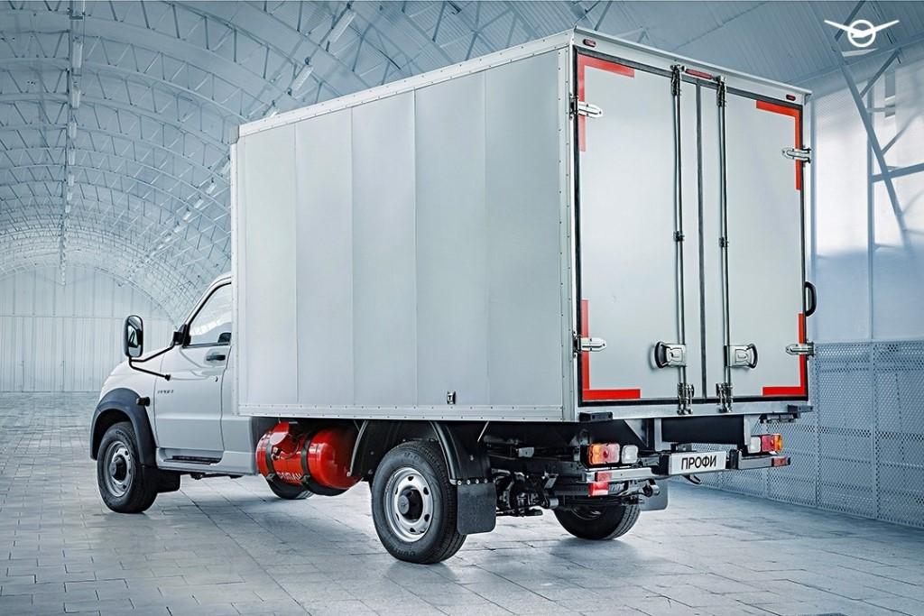 УАЗ выпустил новую модификацию фургона УАЗ «Профи» на газе