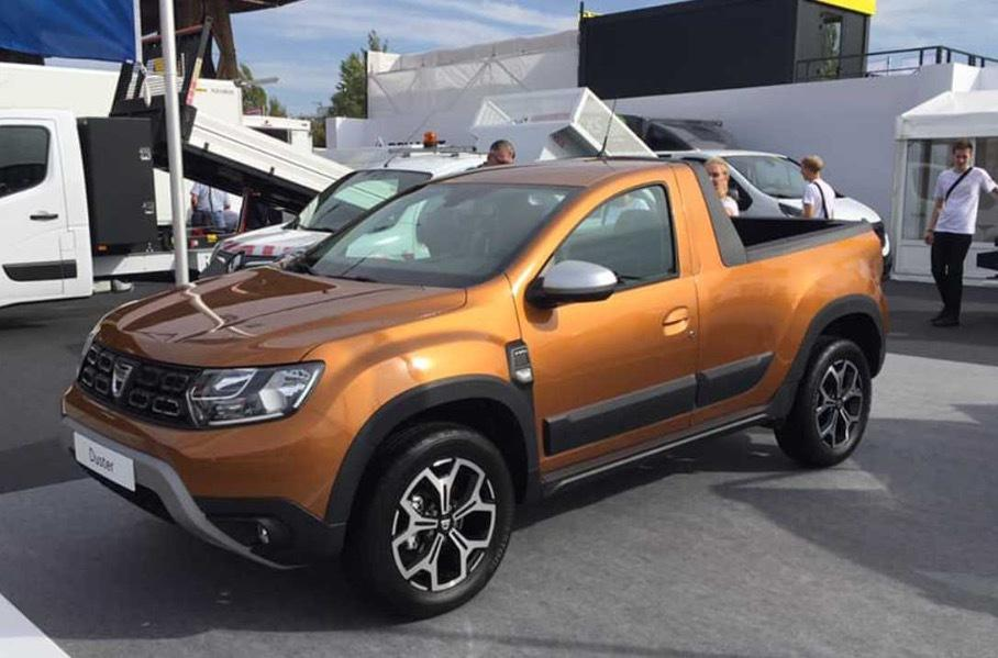 Renault выпустит в 2019 году пикап Dacia Duster