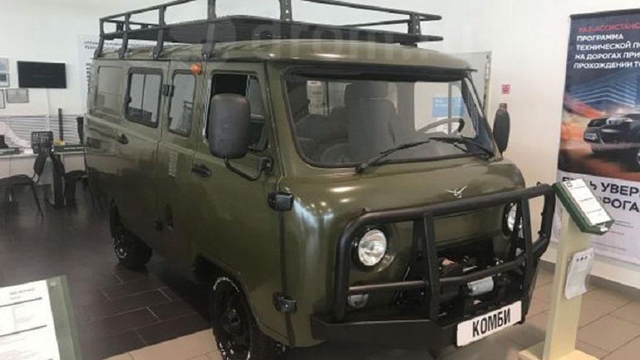 Новая УАЗ «Буханка» уходит  в реализацию  — Настоящий вседорожный автомобиль