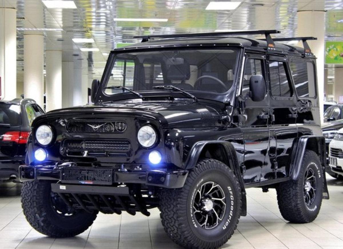 Экспортный УАЗ Хантер для Чили получил уникальные комплектации