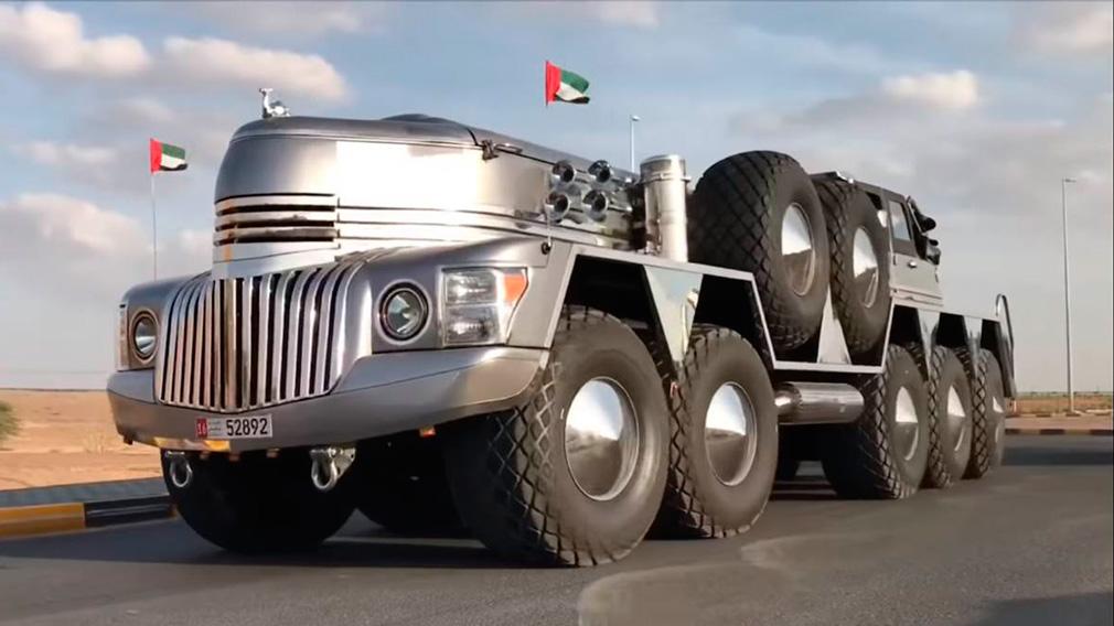 Удивительные автомобили арабского шейха поражают воображение