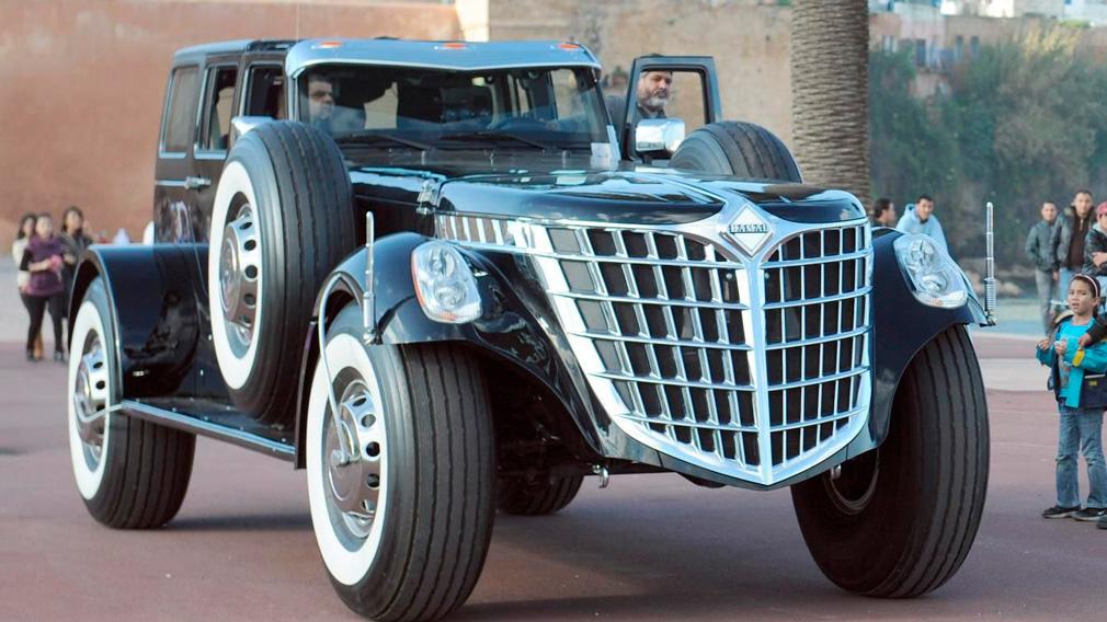 ТОП-5 самых необычных авто арабского шейха
