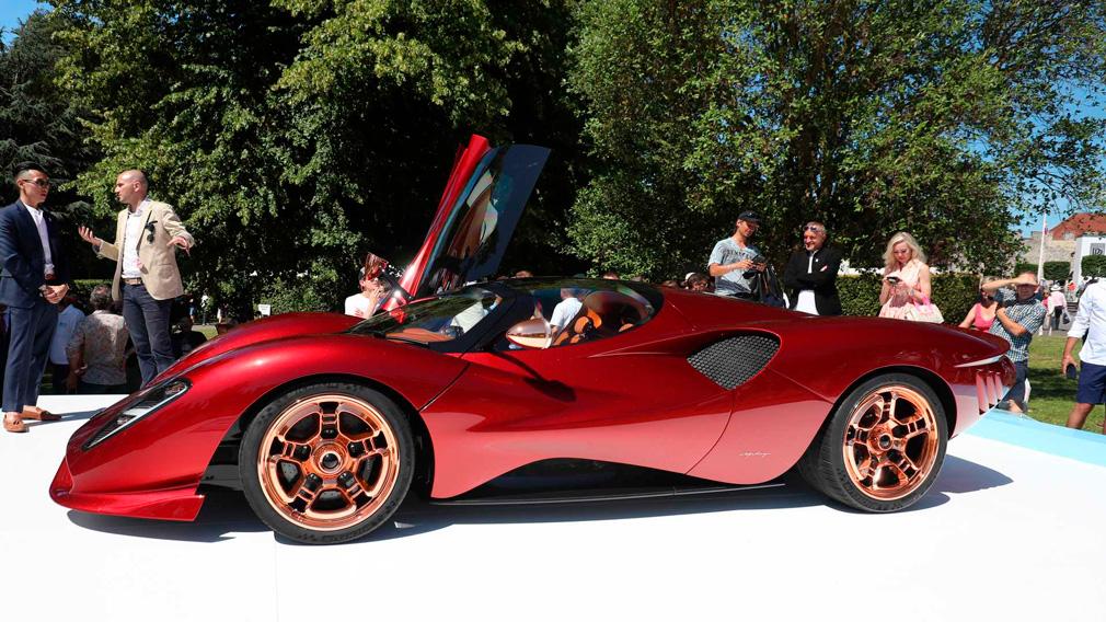 В Гудвуде презентовали суперкар De Tomaso P72