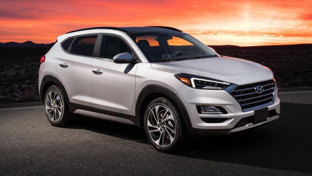 Продемонстрирован модернизированный Hyundai Tucson с новыми оттенками кузова