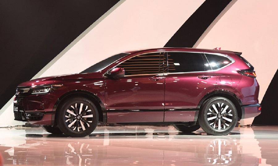 Honda презентовала кроссовер Breeze – аналог CR-V