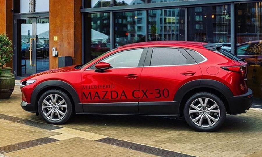 1-ый электромобиль Мазда, дата презентации