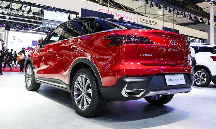 Соперник Renault Arkana из КНР начнет продаваться в мае