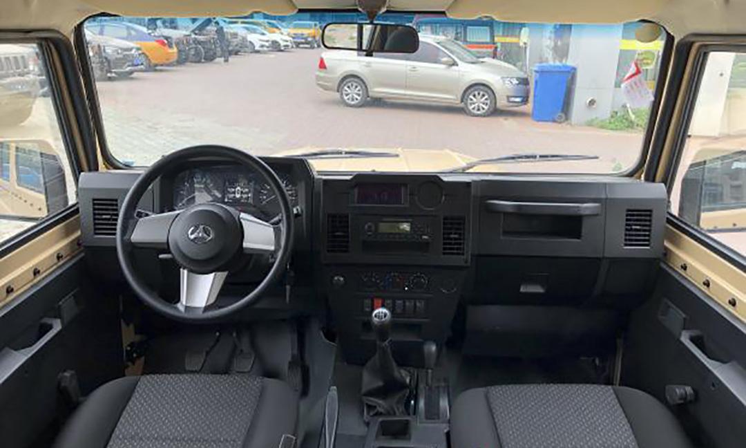 Начал продаваться модернизированный «УАЗ» BJ212 из Китая
