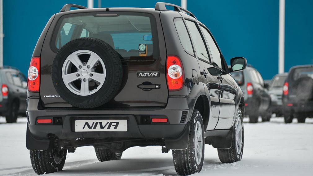 Chevrolet Niva прибавил в цене во всех своих версиях