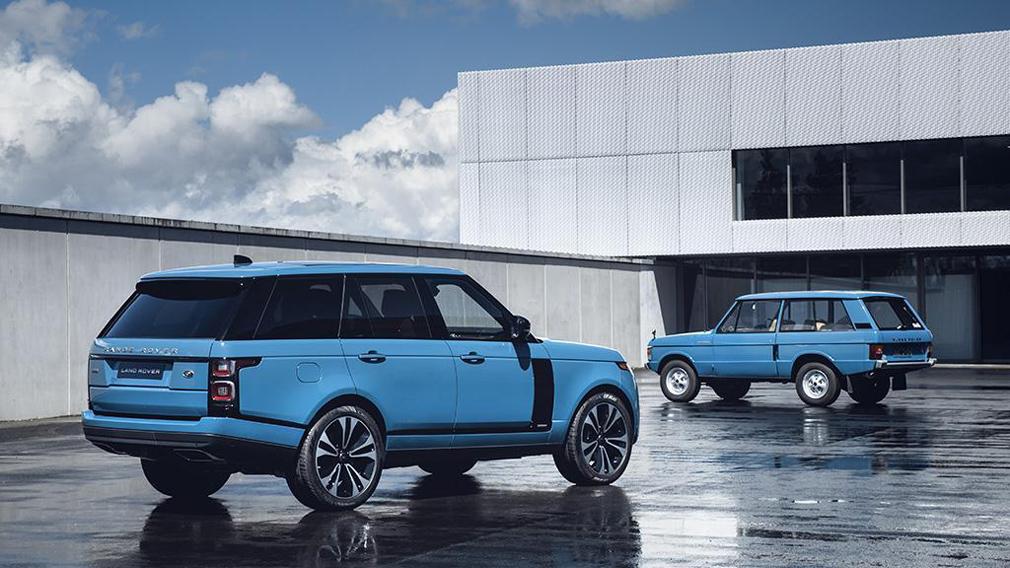 Land Rover выпустил юбилейную версию Range Rover Fifty