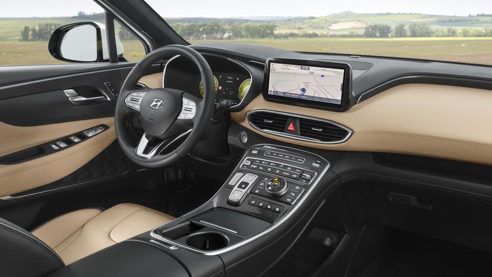 ?Стали известны подробности о моторах для модернизированного кросса Hyundai Santa Fe