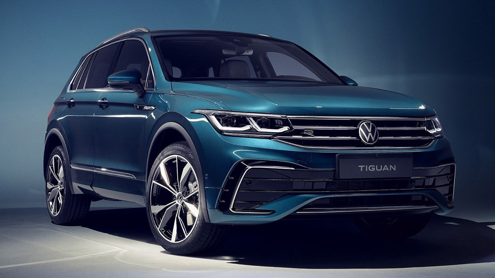 Volkswagen обновил Tiguan: кроссовер обзавелся «подзаряжаемым» гибридом и R-версией