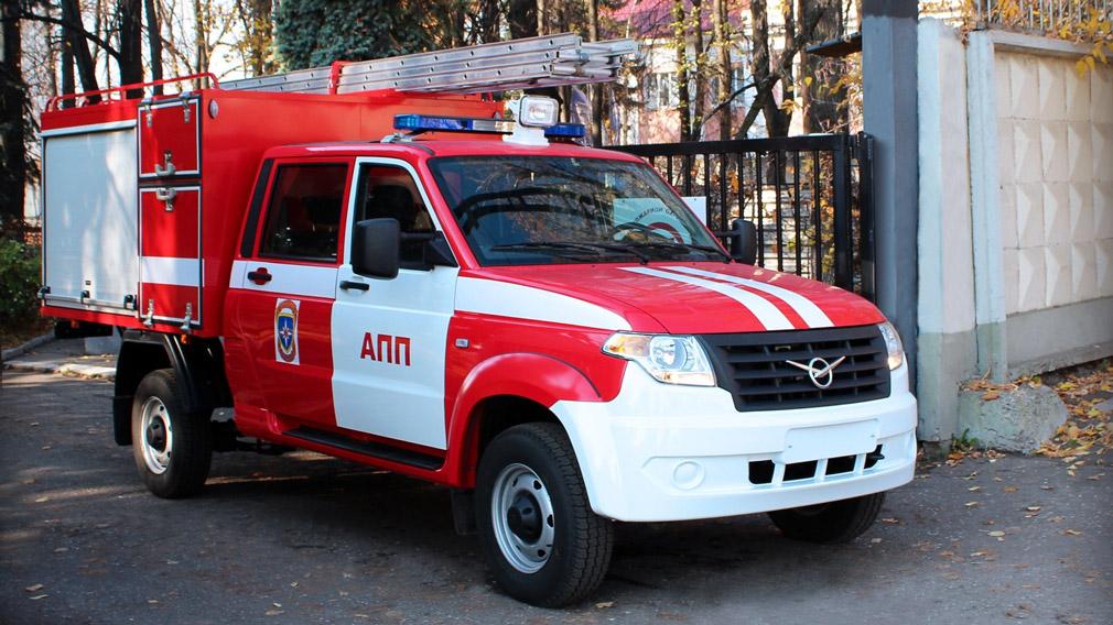 УАЗ представил пожарную машину на базе Профи