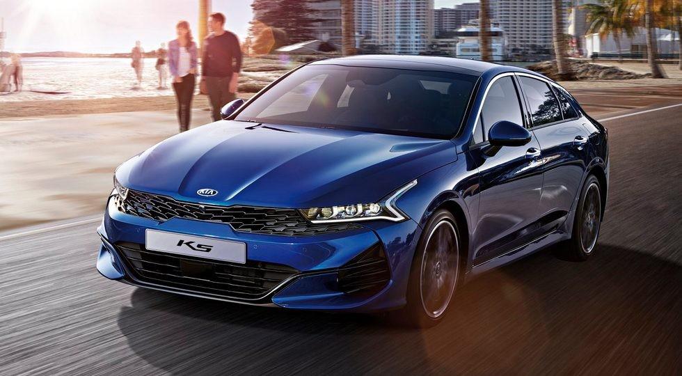 В России стартовали продажи нового седана KIA К5