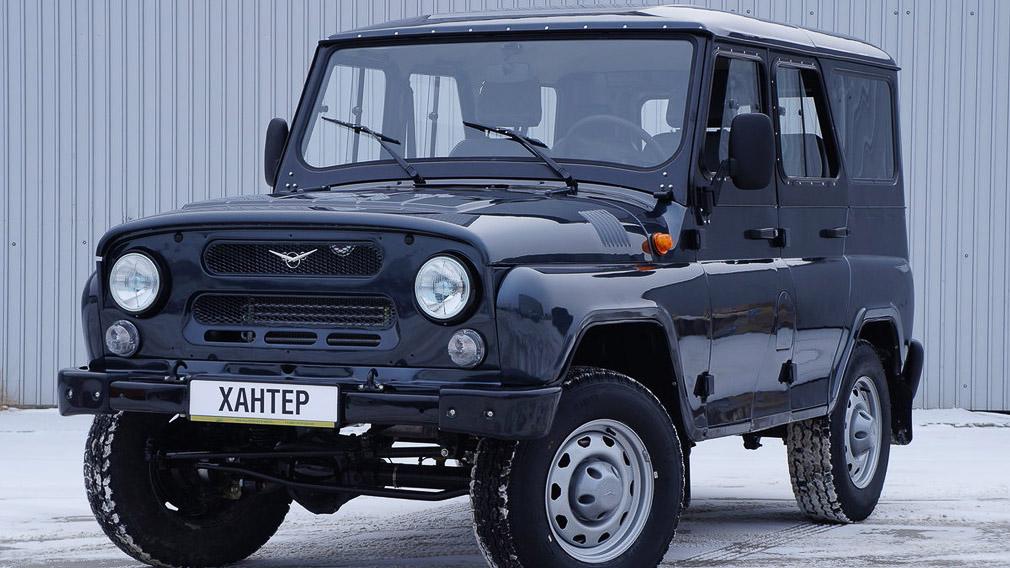 Появились изображения нового поколения УАЗ «Хантер»