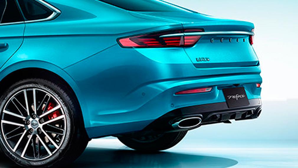 Появились подробности о кросс-купе Geely FY11 для России. Его назовут в честь водопада