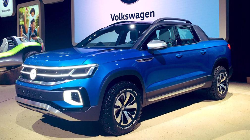 VW запатентовал новый пикап набазе Tiguan