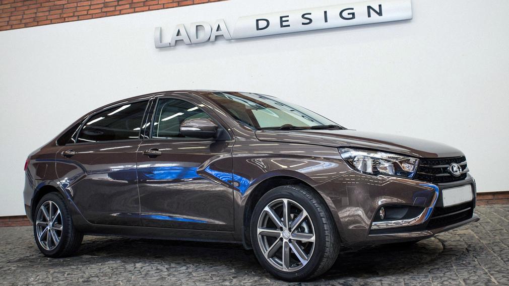 В Сети появился концепт Lada Vesta Premium