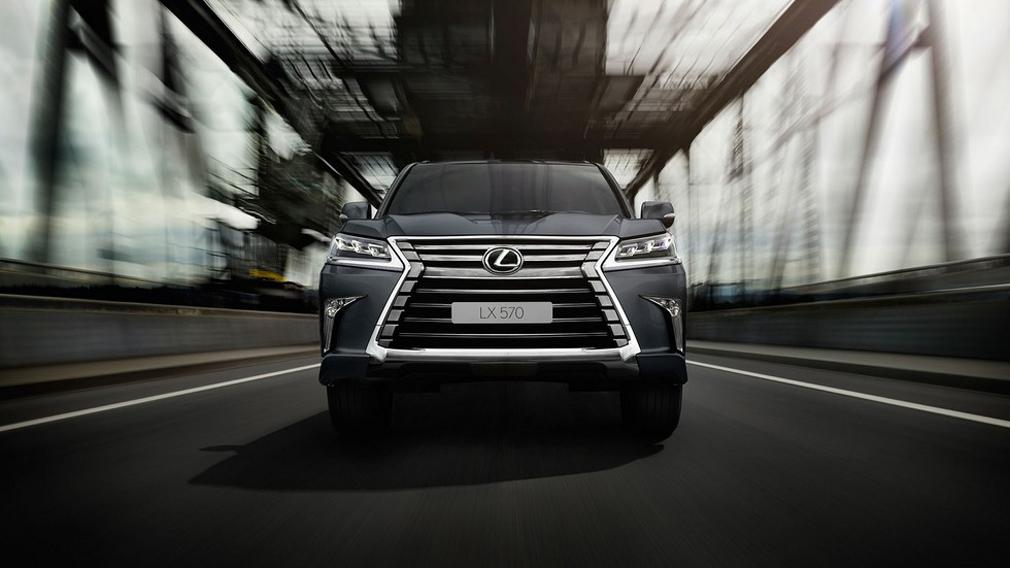 Lexus выпустил спецверсию внедорожника LX в России - Авто Mail.ru