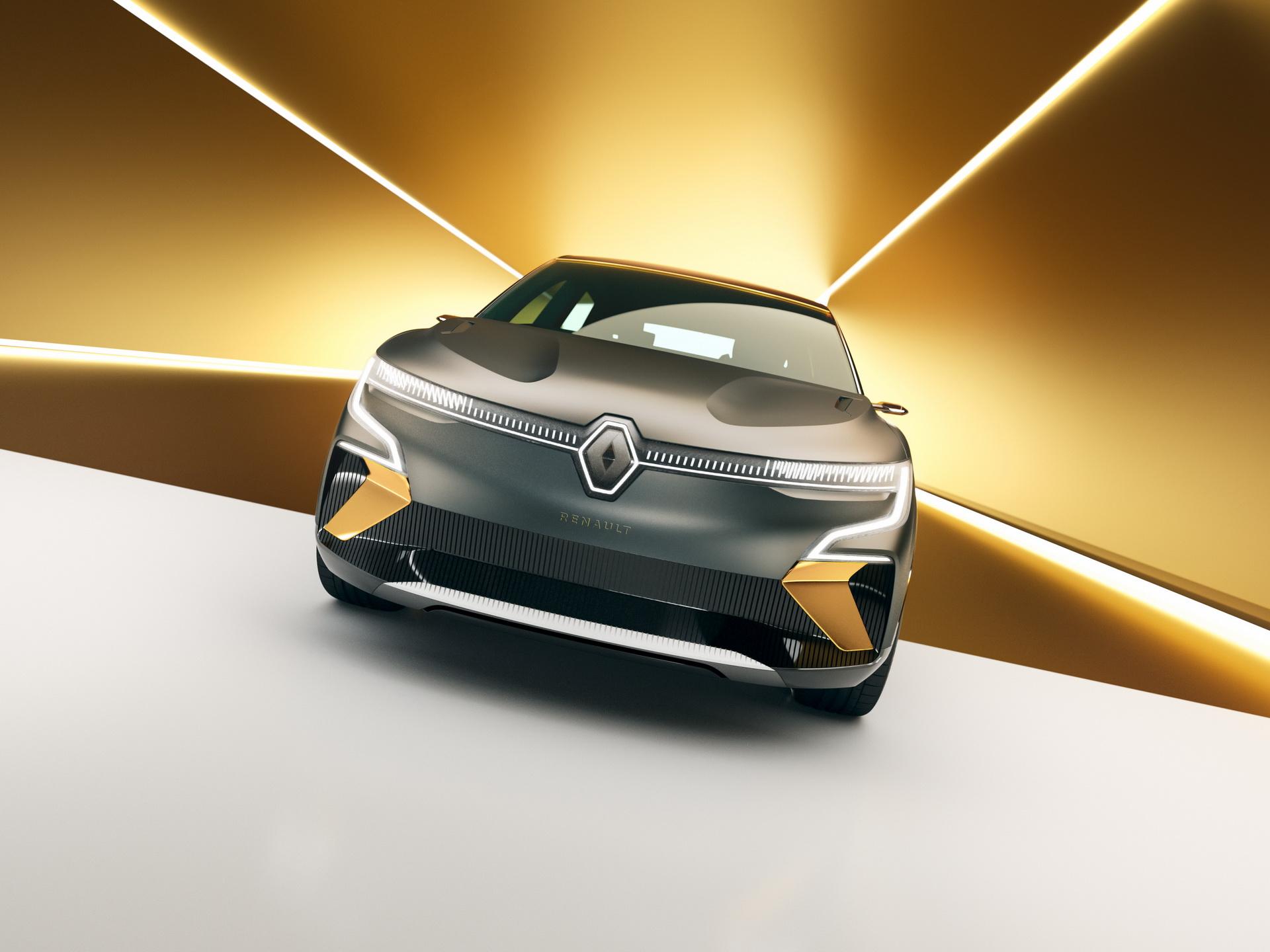 Renault Megane eVision показал дизайн будущего электрического хетчбэка