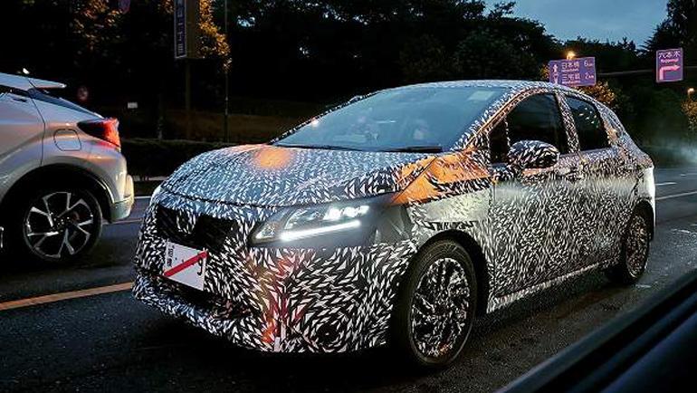 Начались испытания нового Nissan Note